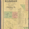 Map of Madison County, Tenn. from actual surveys and official records