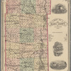 Map of Kane County, Illinois, 1878