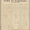 Plat of the town of Elmhurst, Du Page County, Illinois