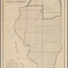 Diagram of the state of Illinois: accompanying report of the 28th October 1849