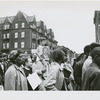 Poor People's Campaign marchers marching down Seventh Avenue in Harlem, New York