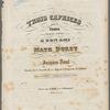 Trois caprices pour le violon, op. 20