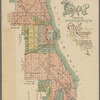 Map showing territorial growth of the city of Chicago: to accompany the annual report of the Map Department, O. L. Wullweber, superintendent, 1896 ; Chas. M. Mueller, del.