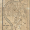 Map of Chattanooga, Tenn.