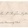 Lytton, L. Rogers