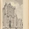 Frente del Sagrario de la Catedral de México, opp. p. 69