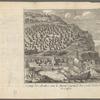 Camp des Arabes sur le Mont Carmel du costé de la ville de Caifa, opp. p. 210