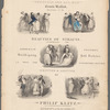 Josephine Butler collection of music covers