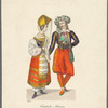 Costumes for the quadrille
