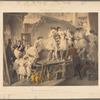 Les coulisses de l'Opéra (le corps de ingénues)