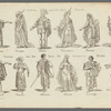 Costume prints for opera, ballet, and theatre