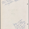 Autographed by Cast at Ethel Barrymore Theatre, 85 pages