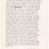 """Notes on Beauford Delaney,"" Typescript, 2 pages, 1 handwritten page (Incomplete)"
