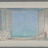 Allegro set design (Nurses, woman in bed, man)