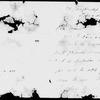 Parkes, Bessie. 7 ALS to. 1 postmarked June 23, 1852; 4 dated May 15 [1853], Dec. 27 [1853], July 19, 1857, and Dec. 25 [n.y.]; 2 undated