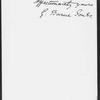 Burne-Jones, Georgiana (Macdonald), Lady. ALS to Mrs. Lewes [George Eliot]