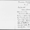 Collection of ten letters from various correspondents to George Eliot. One letter is undated