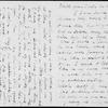 Ward, Elizabeth Stuart Phelps. ALS to Mrs. Lewes [George Eliot]