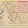 Map of Woodbury County, Iowa: drawn from actual surveys and the county records