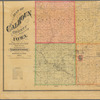 Map of Calhoun County, Iowa: drawn from actual surveys and the county records