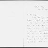 Jowett, Benjamin. ALS to Mrs. Cross [probably John Cross's mother]