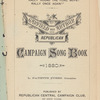 Garfield and Arthur Republican campaign song book, 1880
