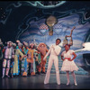 Carl Hall and Stephanie Mills in the stage production The Wiz