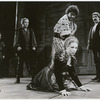 Mark Linn-Baker, Richard Dreyfuss, Frances Conroy (kneeling), Raul Julia and Bruce McGill in the stage production Othello