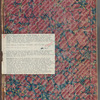 Materia medica. Arabic, Back endpaper verso (with a collection note recto)