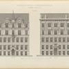 Wohnhäuser in Wein: II. Czerningasse No. 13 u.15. (Façade), Pl. 60