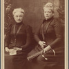 Lydia A.B. Crossley Hapgood + Isabel Florence Hapgood