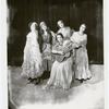 Publicity photograph of unidentified actresses (gypsies) for the stage production Chauve-Souris