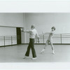Jerome Robbins and Mikhail Baryshnikov rehearsing Other Dances, no. 378
