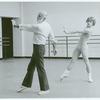 Jerome Robbins and Mikhail Baryshnikov rehearsing Other Dances, no. 379
