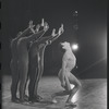 "Three unidentified American Ballet Company dancers in ""At Midnight"""