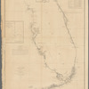 Sketch F, showing the progress of the survey in Section VI, with a general reconnoissance of the coast of Florida, 1848-54