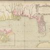 Carte reduite des costes de la Louisiane et de la Floride