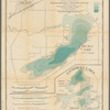Hydrographic map of Delavan and Lauderdale lakes, Walworth Co., Wisconsin