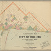 Albertson's map of the city of Duluth, St. Louis County, Minn., and vicinity