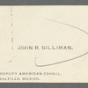 Silliman, John R
