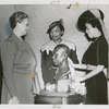 Augusta Savage (center) at the presentation of her bust of author and activist James Weldon Johnson