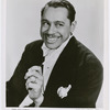 Studio portrait of singer and bandleader Cab Calloway