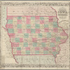 Colton's township map of the State of Iowa: compiled from the United States surveys & other authentic sources