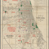 Blanchard's map of Chicago, and environs