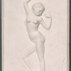 Bas Relief of a Female Dancer