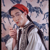 Anton Dolin in Greek Fustinella costume belonging to Carl Van Vechten