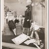 Bonwit-Teller store window display featuring Oklahoma! tie-in fashions