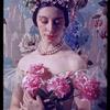 """Alicia Markova in a Victorian pose in """"La Sylphide"""" costume"""