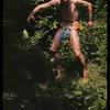 Hugh Laing al fresco in improvised costume - not in ballet