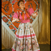 "Carmen Vasquez in cafe scene from the musical ""Cabalgata: Spanish Musical Cascade"""